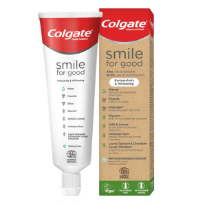 COLGATE Smile for Good Kariesschutz & Whitening Zahnpasta (75ml)