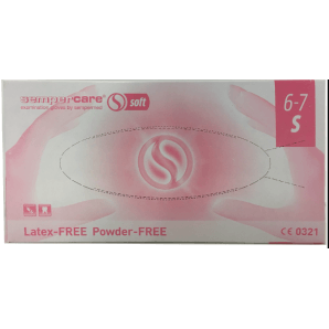 Sempercare Nitril Soft Handschuhe Grösse S, weiss, puderfrei (200 Stk)