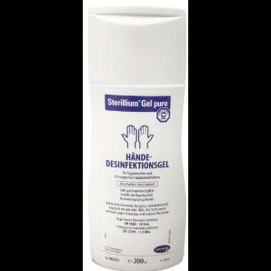 Sterillium Gel Pure pour désinfection des mains (200 ml)