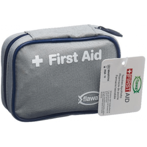 FLAWA Pocket Pharmacy Case Gray