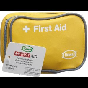 FLAWA Pocket Pharmacy Case Yellow