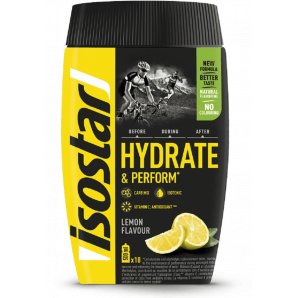isostar Hydrate & Perform Lemon (400g)