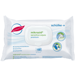 Mikrozid Sensitive wipes premium (100 pieces)