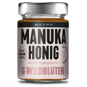 Madhu Honey Manuka Honey & Wild Flowers (250g)