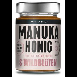 Madhu Honey Manuka Miel & Fleurs Sauvages (250g)