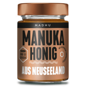 Madhu Honey Manuka Miel de brousse MGO30 (250g)