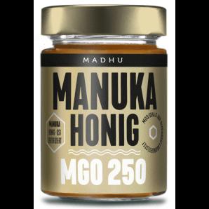 Madhu Honey Manuka Miel MGO250 (250g)