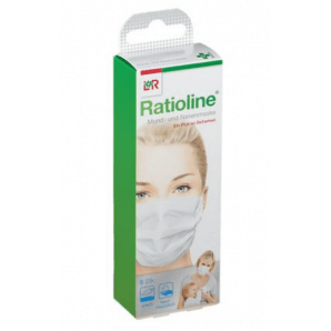 Ratioline mouth and nose mask (6 pieces)