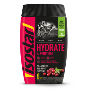 ISOSTAR Hydrate & Perform Red Fruits (400g)