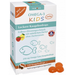 Norsan Omega-3 Kids Jelly (120 pieces)