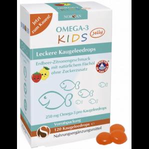 Norsan Omega-3 Kids Jelly (120 Stk)