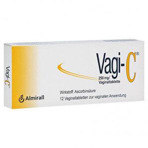 Vagi C vaginal tablets (12 pieces)