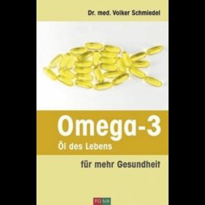 Buch Omega-3 Öl des Lebens - Dr. med. Volker Schmiedel