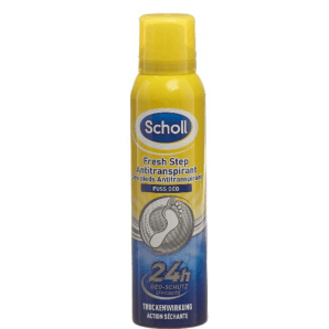 SCHOLL Foot Deodorant Antiperspirant Spray (150ml)
