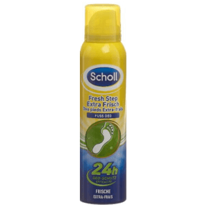 SCHOLL Foot Deodorant Extra Fresh Antiperspirant Spray (150ml)