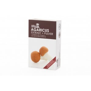 HAWLIK Agaricus Extract + Powder Capsules (60 pcs)