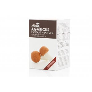 HAWLIK Agaricus Extract + Powder Capsules (120 pcs)