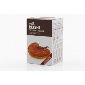 HAWLIK Reishi Extract + Powder Capsules (120 pcs)