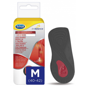 SCHOLL InBalance Insole Knees And Heel Pain 40-42 (1 pair)
