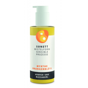 Sonett Mistletoe Massage Oil Myrtle Orange Blossom (145ml)
