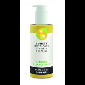 Sonett Mistelform Massageöl Zitrone Zirbelkiefer (145ml)