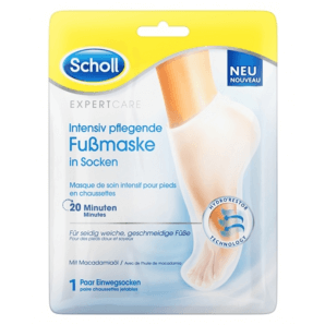 SCHOLL Expert Care Intensiv pflegende Fußmaske (1 Paar)