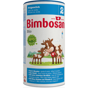 Bimbosan Bio 2 follow-on milk can (400g)