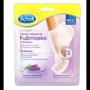 SCHOLL EXPERTCARE intensiv pflegende Fussmaske mit Lavendelöl (1 Paar)