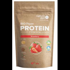 Nature Zen Essential Bio Proteinpulver Erdbeere (250g)