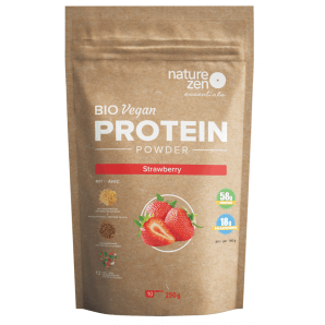 NZ Essential Organic Strawberry Protein Powder (250g)