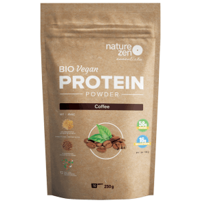 Nature Zen Essential Organic Protein Powder Coffee (250g)