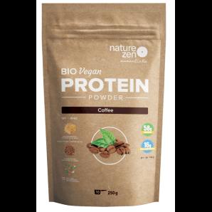 NZ Essential Organic Protein Powder Coffee (250g)