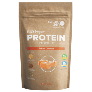 Nature Zen Essential Organic Caramel Salted Protein Powder (250g)