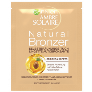 GARNIER AMBRE SOLAIRE Self Tanning Towel (5.6ml)