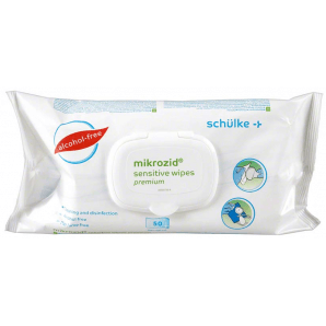 Mikrozid Sensitive wipes premium (50 pieces)