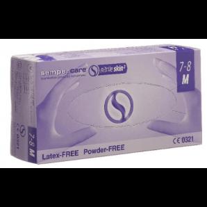 Sempercare nitrile skin gloves white size M (200 pcs)