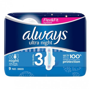 Always Ultra Bandage Night (9 pcs)