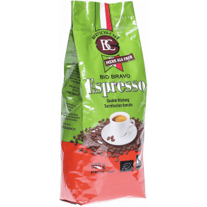 MORGA BC BERTSCHI CAFE Bio Bravo Espresso Bohnen Gemahlen Dunkel kaufen (500g)
