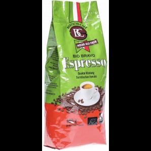 MORGA BC BERTSCHI CAFE Grains De Café Moulu Espresso Bio Bravo Foncé (500g)
