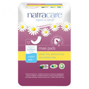 Natracare - Damenbinden Super (12 Stk)
