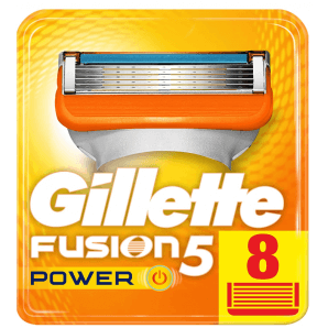 GILLETTE Fusion5 Power Blades (8 pcs)