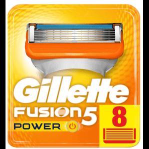 Gillette Fusion5 Power Klingen (8 Stk)