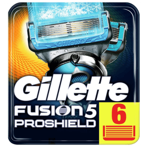 Gillette Fusion5 Proshield Chill Blades (6 pieces)