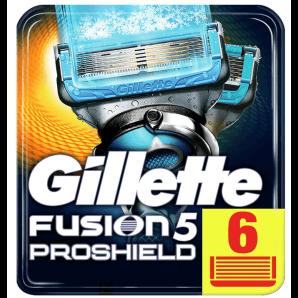 Gillette Fusion5 Proshield Chill Klingen (6 Stk)