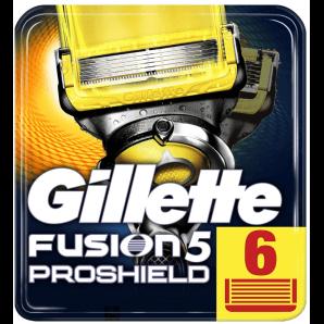 Gillette Fusion5 Proshield Klingen (6 Stk)