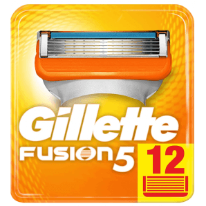 Gillette Fusion5 Klingen (12 Stk)