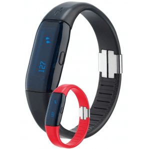 Trisa Activity Tracker (black / red)