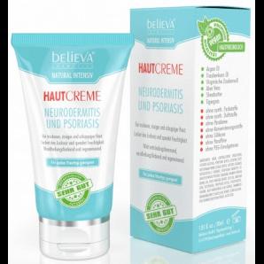 Believa crème peau contre l'eczéma et le psoriasis végétalien (30 ml)