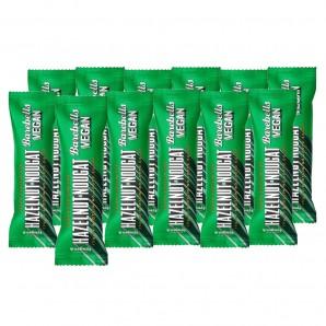 Barebells barre protéinées vegan noisettes et nougat (12 x 55g)