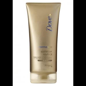 Dove DermaSpa Sommer Revival Body Lotion für mittlere bis dunkle Haut (200ml)